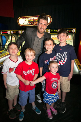 Washington Area Toyota Dealers and Bryce Harper hosted a special evening of games and food benefiting the Leukemia and Lymphoma Society on June 24 at Dave and Busters in Kensington, Md.  (PRNewsFoto/Toyota Motor Sales, U.S.A., Inc.)