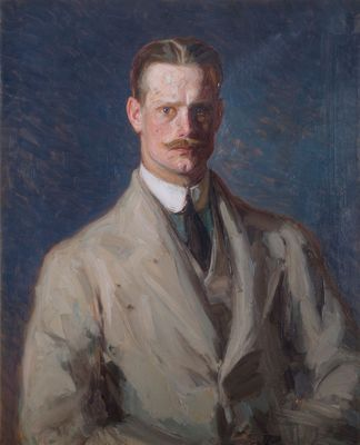 Title: Portrait of an Unknown Rheumatologist; Artist: Unknown artistPainted: c.1920; Medium: Oil on canvas; Dimensions: 79 x 64 cm; Collection: Royal Free Hospital, London; Photo Credit: Royal Free Hospital, London