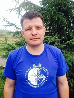 Dr Vladimir Popov, head of laboratory animal facility in Biological faculty, Moscow State University