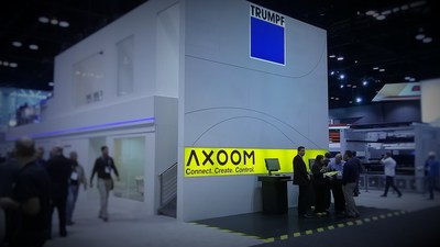 TRUMPF discusses C-Labs and AXOOM during FabTech trade show