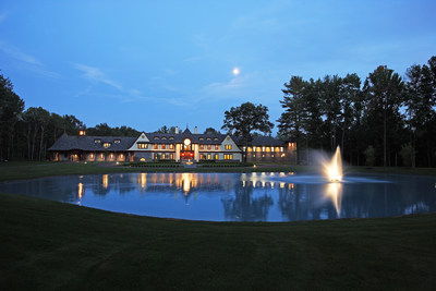This spectacular mansion in Saratoga Springs, New York will be sold at a live auction on December 19, 2015. The sale is managed by Platinum Luxury Auctions, in cooperation with Gerry Magoolaghan of Select Sotheby's International Realty. The property was recently offered for $8.6 million, but will now be sold to the highest bidder above a bid of $4.9 million. Details at SaratogaLuxuryAuction.com.