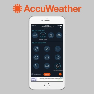 AccuWeather iOS10 App