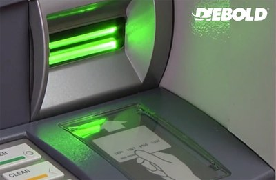 Diebold ActivEdge: The world's most secure anti-skimming card reader  (PRNewsFoto/Diebold, Incorporated)