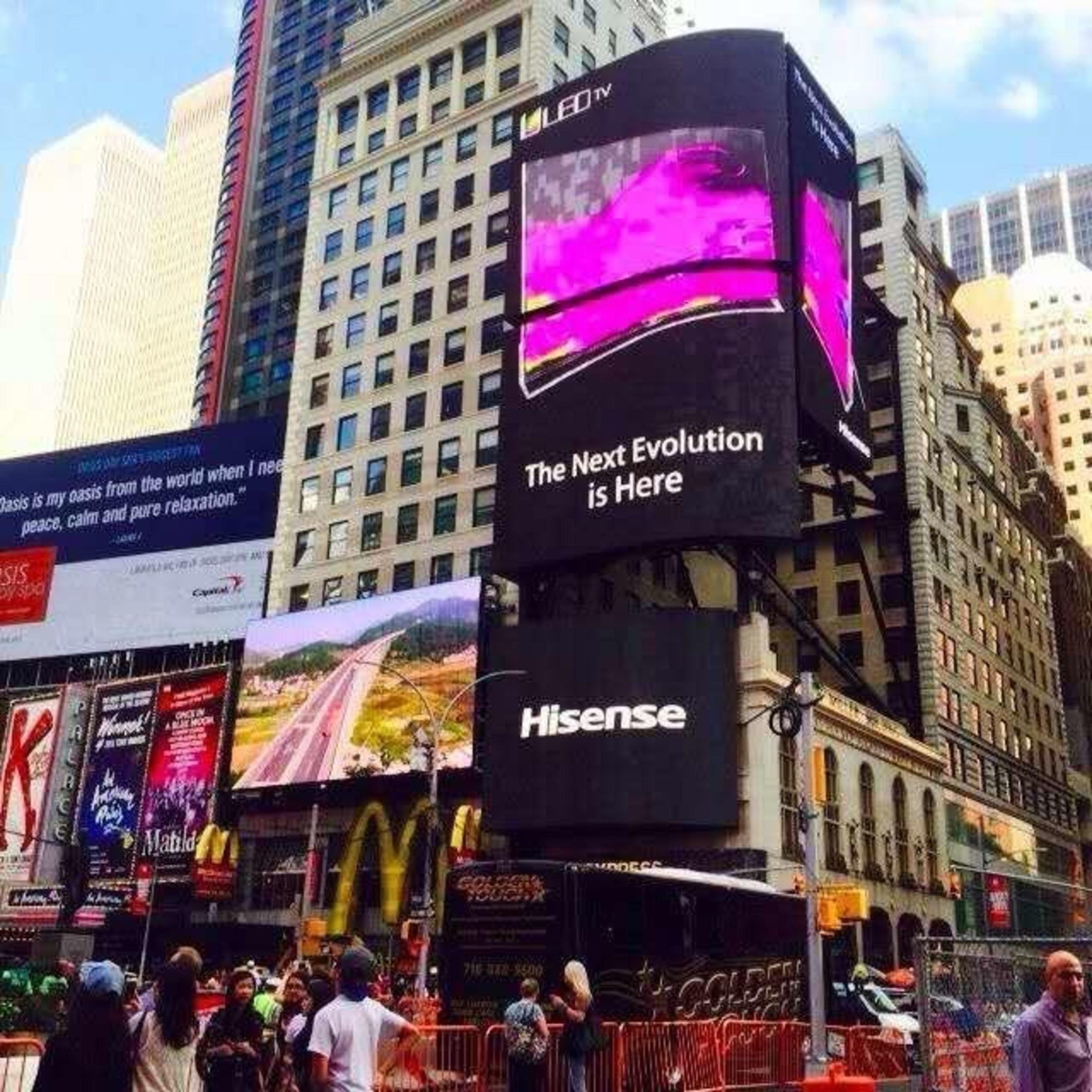 Hisense bringt gebogenes Smart-TV mit 65 Zoll aus der Produktserie 4K ULED(TM) H10 auf den Markt