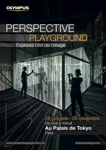The Palais de Tokyo in Paris plays host to the latest PERSPECTIVE PLAYGROUND concept event, 'Explore the ...