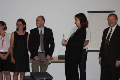 Sanofi and Accelrys at awards ceremony on June 12