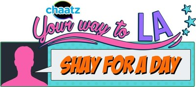 Shay's fans can now connect with her through her personal Chaatz account, and send Winks (personalized photo emojis) for the chance to win awesome Shay curated prizes every week.