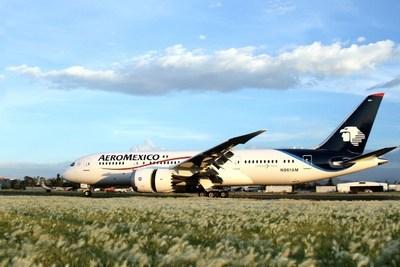 Boeing 787 Dreamliner (PRNewsFoto/Aeromexico)