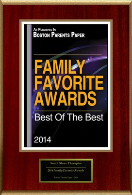 "South Shore Therapies Selected For ""2014 Family Favorite Awards"""