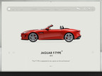 Jaguar Launches New App: F-TYPE Legacy By Road Inc.  (PRNewsFoto/Jaguar Land Rover North America, LLC)
