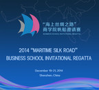 "2014 ""Maritime Silk Road"" Business School Invitational Regatta, December 19-21, 2014, Shenzhen, China."