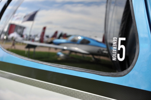 Cirrus Aircraft Generation 5 SR22T.  (PRNewsFoto/Cirrus Aircraft)