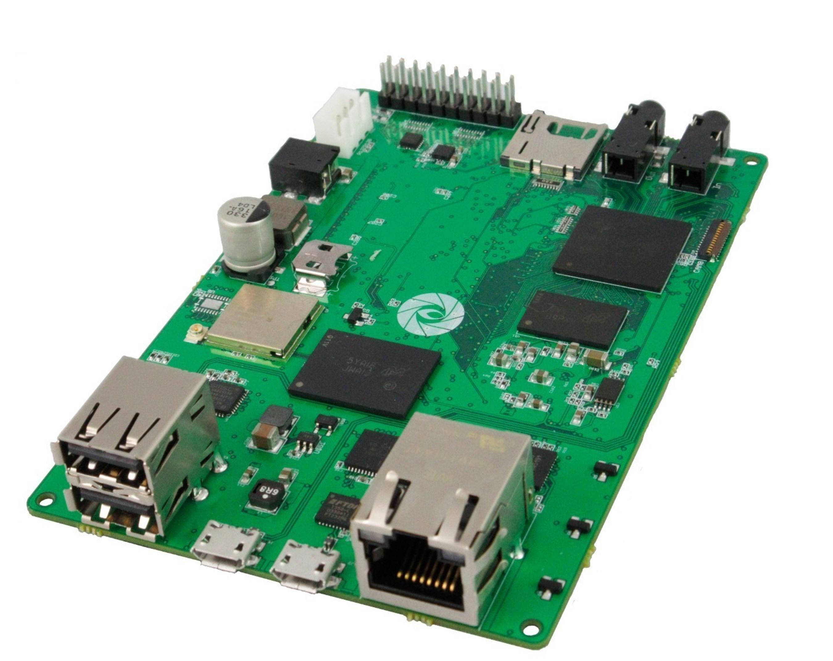 Poblano 43C single board computer designed in Geppetto D2O
