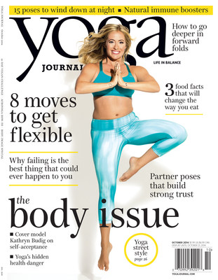 Yoga Journal Debuts a Brand New Look