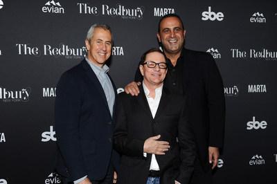 Danny Meyer, Matthew Rolston, and Sam Nazarian Host The Redbury New York Grand Opening Party [Credit: Rommel Demano/BFA.com]