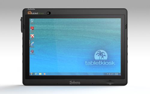 Sahara NetSlate a525 Tablet PC from TabletKiosk.  (PRNewsFoto/TabletKiosk)