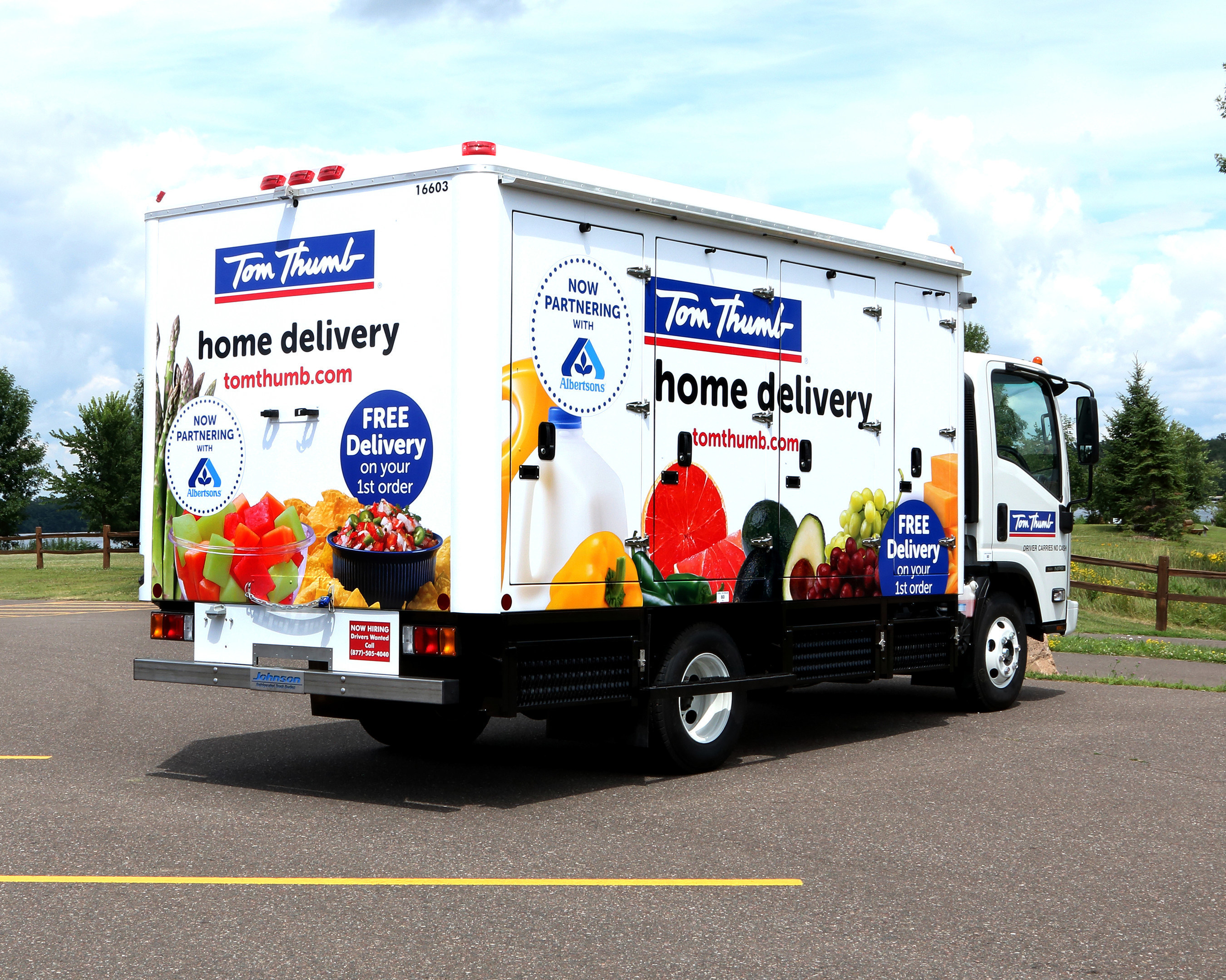 Tom Thumb Launches Grocery Delivery Service in North Texas
