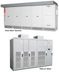 TMEIC TMDrive-MVe2 and Solar Ware Samurai Cabinets (PRNewsFoto/TMEIC)