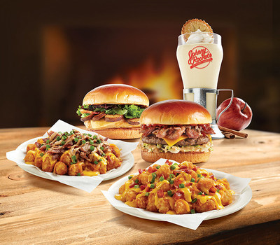 New limited time menu items available now at Johnny Rockets.