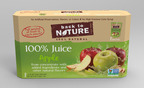 BACK TO NATURE All-Natural 100% Juice Pouches, Apple.  (PRNewsFoto/Back to Nature Foods Company, LLC)