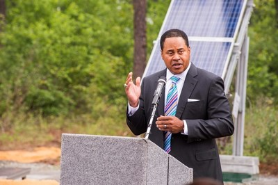 Georgia Power's Kenny Coleman speaks about the importance of solar generation and the new project at MCLB Albany to the company and customers.