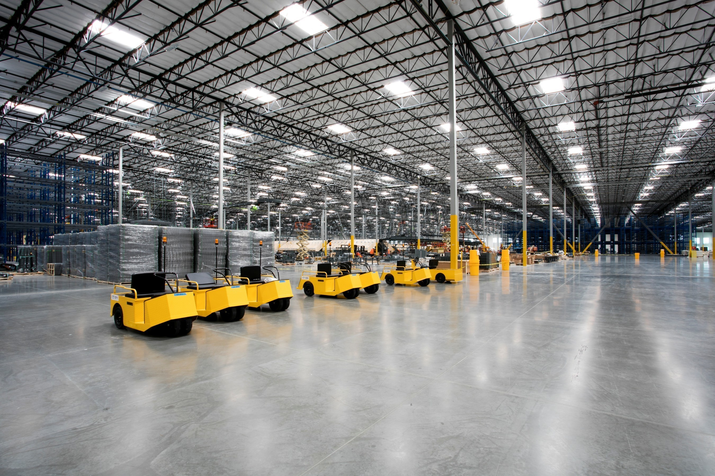 The 1 million square foot facility is expected to accommodate approximately 20 percent of QVC's total U.S. shipments, with plans to store and ship all product categories - from fashion and beauty products to big ticket items like TVs, computers and housewares. (Photo credit: Cari Guerin)