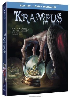 From Universal Pictures Home Entertainment: Krampus