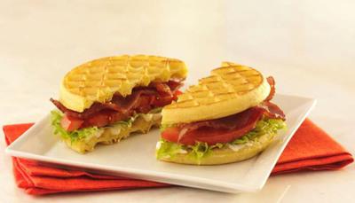 Eggo(R) Waffle Turkey BLT