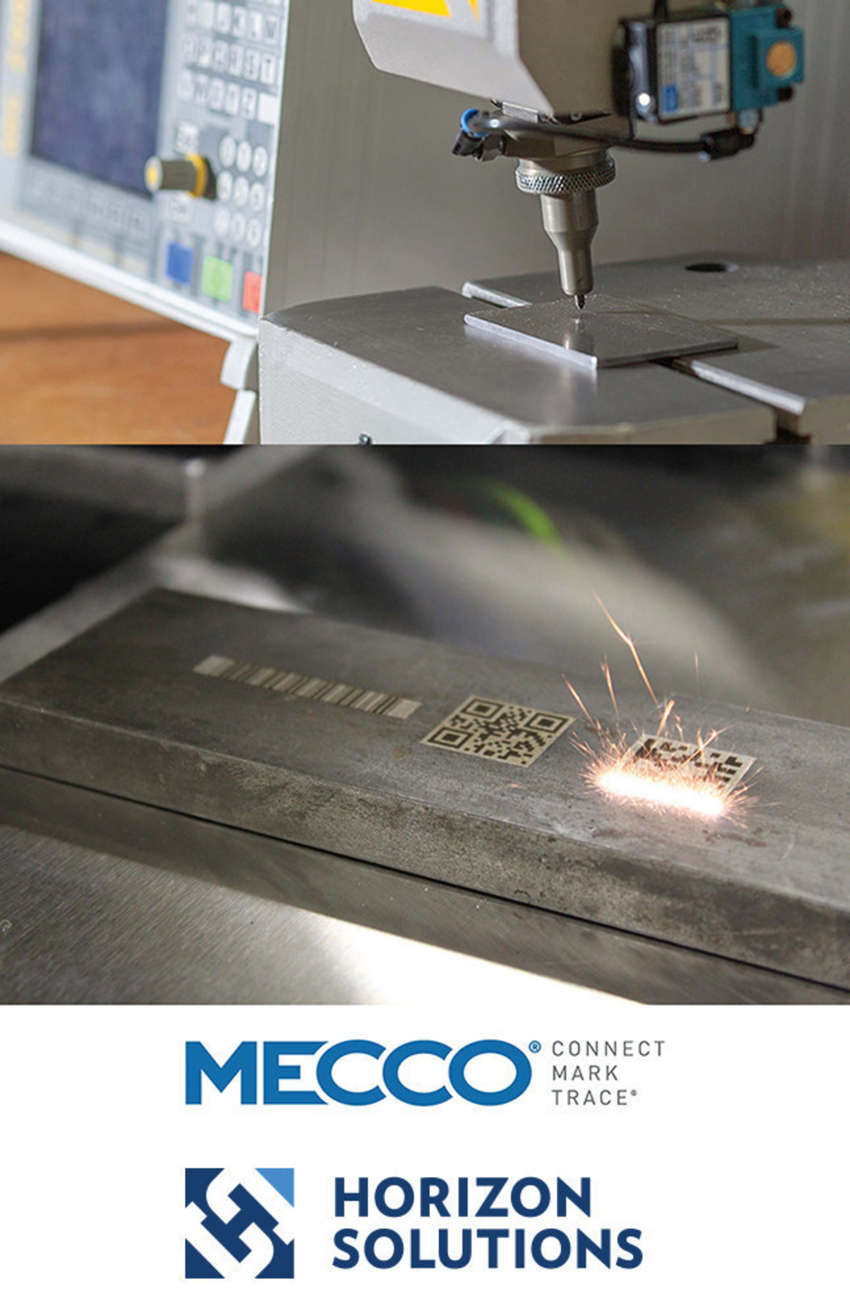 Horizon Solutions will distribute the MECCO(R) Laser and Dot Peen Marking Systems in upstate New York and northern New England.