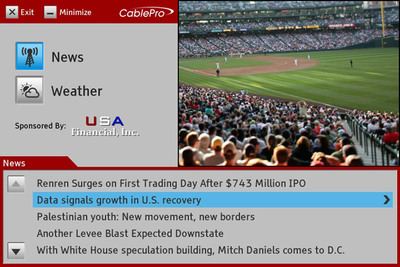 """itaas """"Brings It All Together"""" at The Cable Show 2011 - Booth 455"""