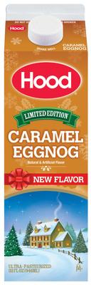 Hood Caramel EggNog.  (PRNewsFoto/HP Hood)