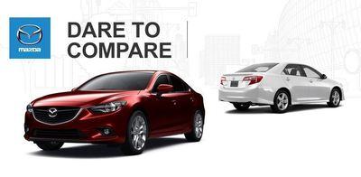 Ocean Mazda of Miami compares its in-stock models to popular competitors. (PRNewsFoto/Ocean Mazda)
