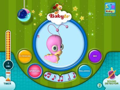 BabyTV's Musical NightLight App for iPhone & iPad