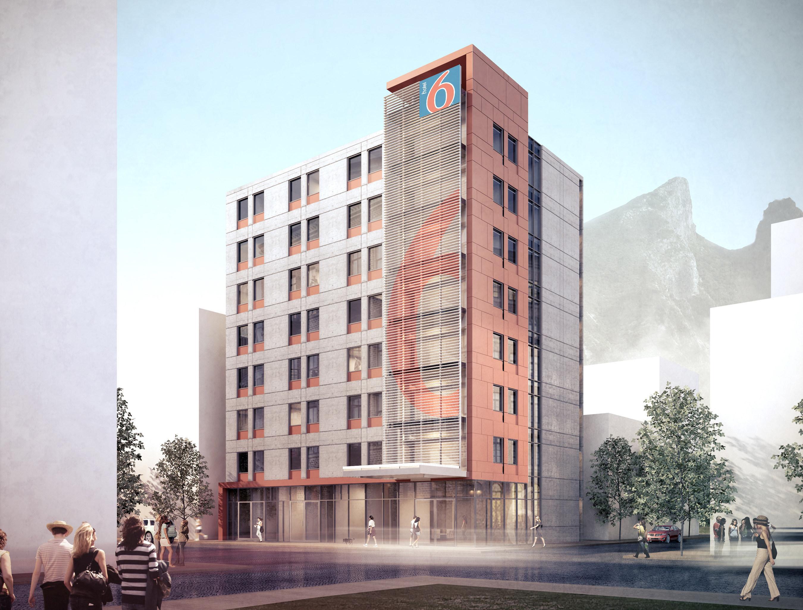 Rendering of Hotel 6 Prototype