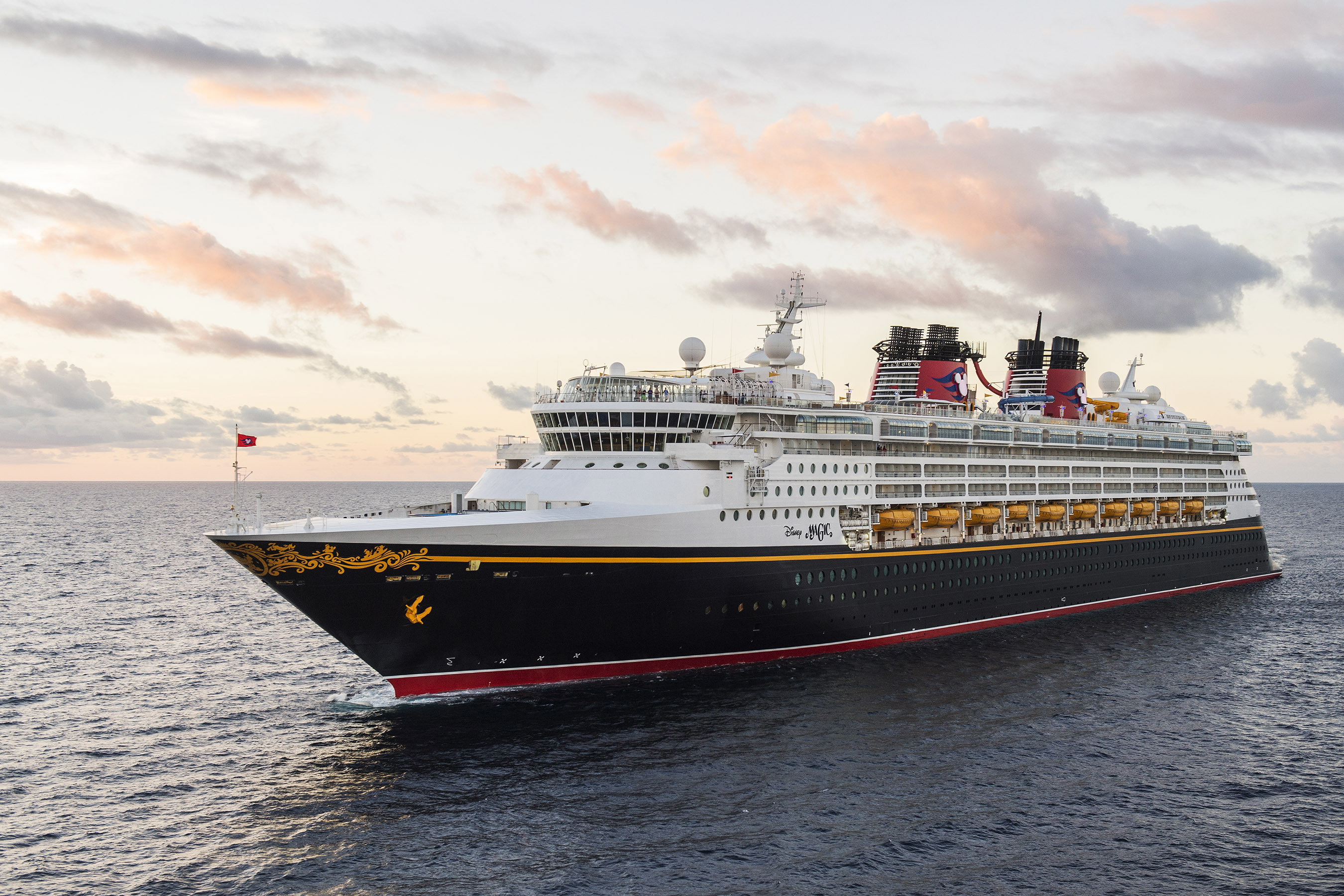 The Disney Magic embodies the Disney Cruise Line tradition of blending the elegant grace of early 20th century transatlantic ocean liners with contemporary design to create a stylish and spectacular cruise ship. On the Disney Magic, guests can experience new adventures, explore re-imagined areas and discover exciting additions for the whole family. (Matt Stroshane, photographer)