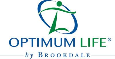 Optimum Life by Brookdale logo.  (PRNewsFoto/Brookdale Senior Living)