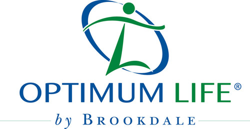 Optimum Life by Brookdale logo.  (PRNewsFoto/Brookdale Senior Living)