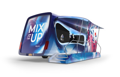 PepsiCo NSPIRE is the company's innovation kitchen on wheels. As it stops around the country, consumers will be able to enjoy unique culinary recipes created by PepsiCo's premier chefs featuring products from the company's vast food portfolio as well as refreshing, customizable drinks made from the state-of-the-art, touchscreen fountain beverage dispenser Pepsi Spire.