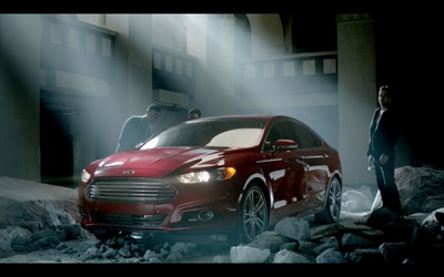 The all-new 2013 Ford Fusion, a breakthrough in performance, style and innovation.  (PRNewsFoto/Ford Motor Company)