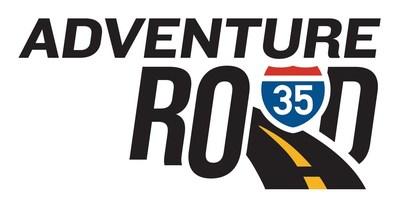 Adventure Road spans 130 miles along I-35 from the Red River (Texas/Oklahoma border) through Oklahoma City.