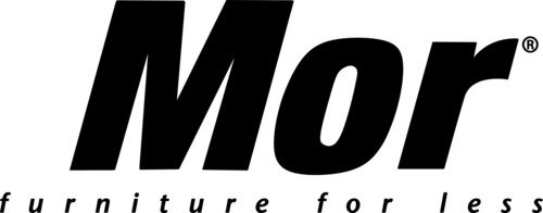 Mor Furniture for Less Logo.  (PRNewsFoto/Mor Furniture for Less)