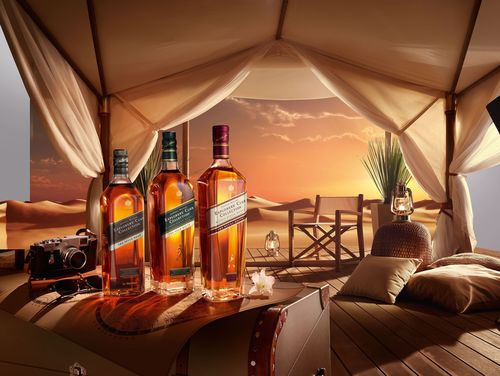 Johnnie Walker Explorers' Club Collection - The Royal Route is the jewel in the crown of the Trade Route Series. (PRNewsFoto/DIAGEO GTME)