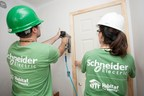 Schneider Electric will continue to provide residential electrical equipment for Habitat homes built in the US and Canada in 2016 and will also help families build a place they can call home.