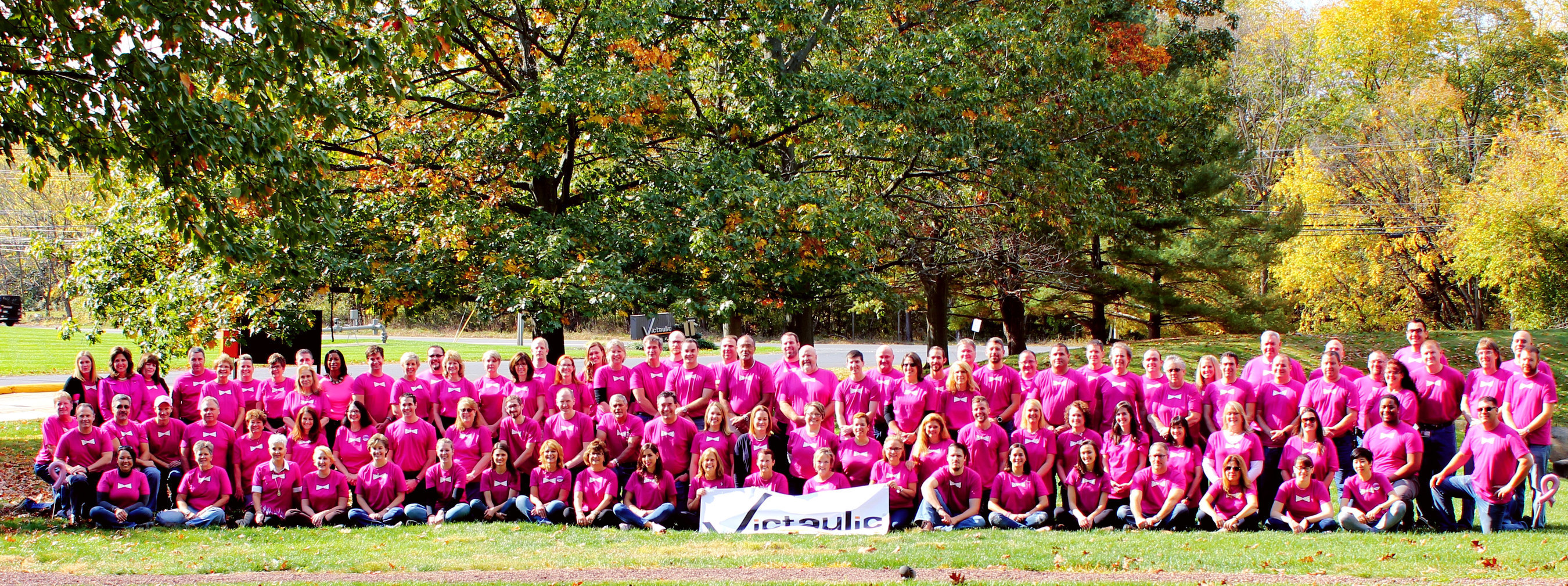 Victaulic, the leading global manufacturer of pipe joining solutions, raised over $50K during the month of October for the American Cancer Society.