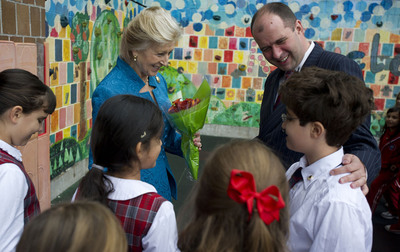 HRH Princess Alexandra Visits The British International School of New York
