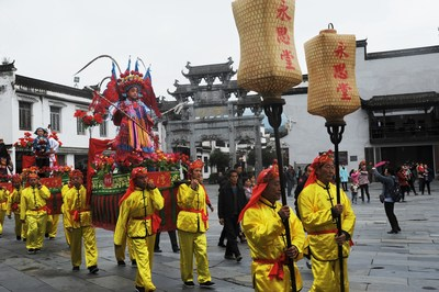 """The filming crew of China Central Television's (CCTV) ongoing national documentary project """"Remember the Nostalgia"""" traveled to Wuyuan County, China on November 8 to film for the show's upcoming third season."""