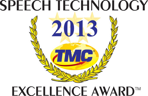 Interactions wins Speech Technology Excellence Award for Second Consecutive Year.  (PRNewsFoto/Interactions Corporation)