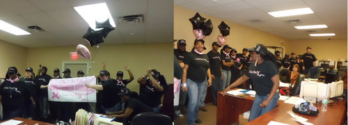 All State Van Lines Relocation joined in on the global Customer Service Week 2012 celebration to show ...