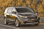 2015 Kia Sedona earns NHTSA 5-Star safety rating