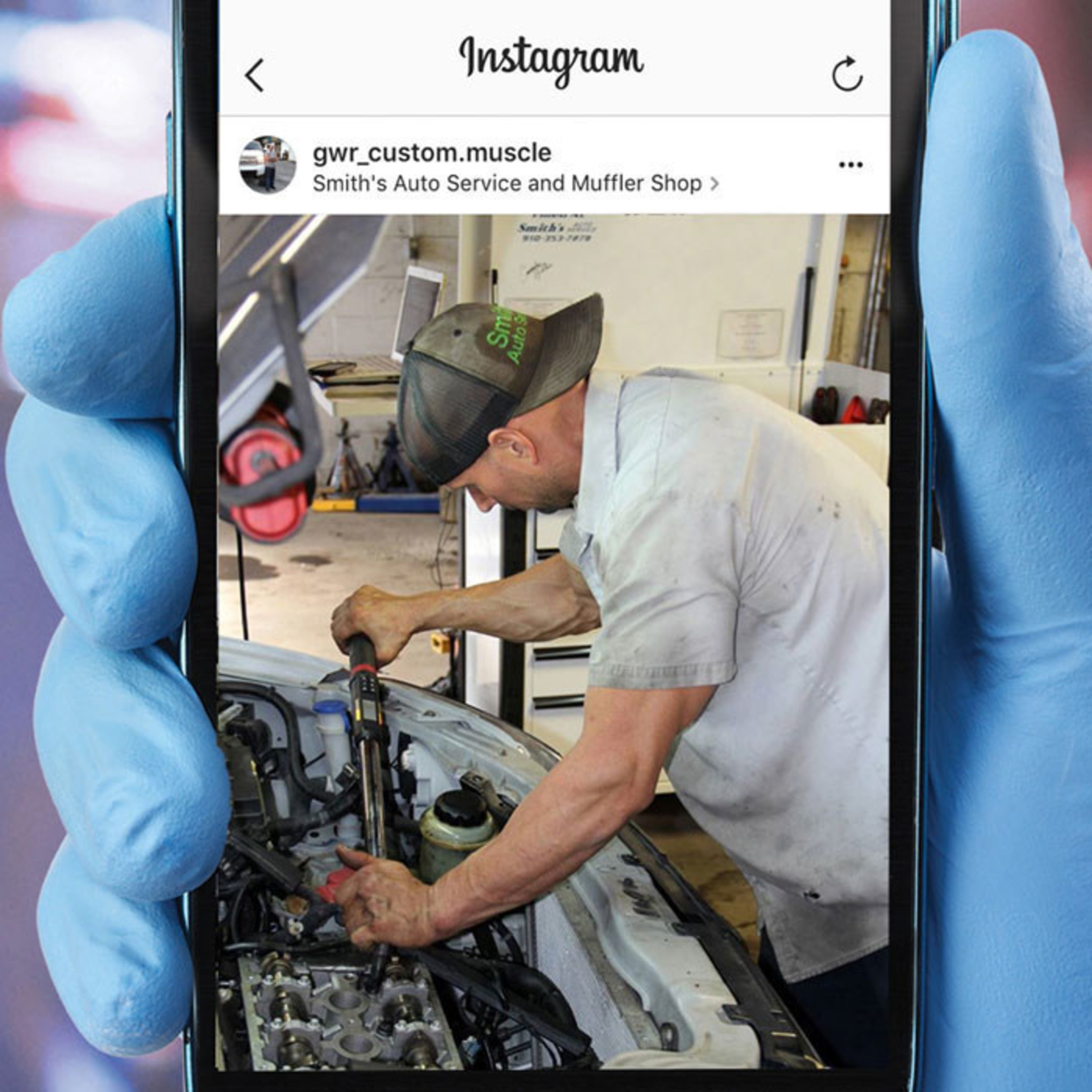 """TechSmart's """"Show Us Your Shop"""" contest awarded technicians for sharing photos of their shops on Instagram."""